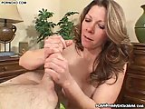 Hot MILF Sucking A Tasty Meat