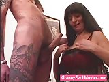 Horny grandma who loves studs