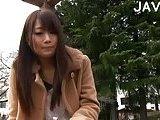 Asian Girl Dildoing Twat In Public