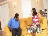 Horny Ebony Babysitters Scene 3