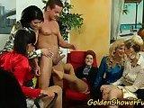 Golden shower shanks