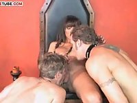 Tranny Got 2 Studs For Banging!