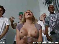 Super babe trainer with big ball tits