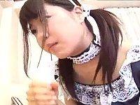 Japanese teen gives handjob scene 1