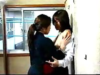 Japanese lesbo hot pettings