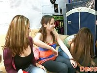 College girls want stripper cock for blowjob