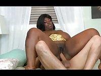 Awesome ebony babe