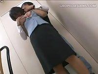 Shy Service Girl