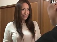 Japanese Chick Gets Bush Fingered