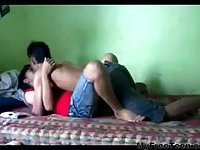Indonesian Guy Fucked Gf