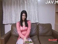 Asian wife & her hubby masturbating