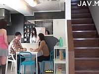 Japanese hairy cunt stuffed scene 2
