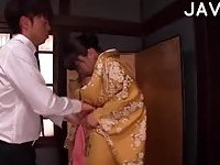 Busty Japanese Babe Gets Fucked scene 1