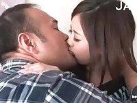 Hot Asian Babe Kissing