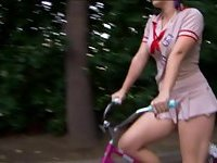 Sierra Sanders Girl Scout Scary Bike Rides