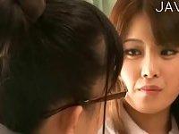 Cute Asian Girls Making Out