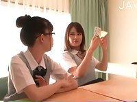Asian schoolgirl lesbians