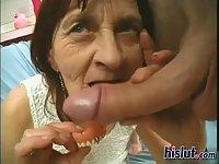 This grandma got it on