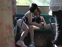 horny lesbian bus geek 02