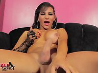 Shemale Jaquelin Braxton Cums For You!