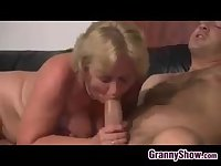 Blonde Grandma From Europe