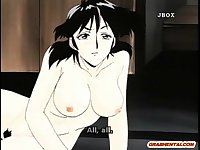 Big boobs hentai mom hot fucked by her boss