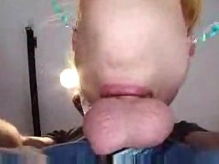Deep Throat Blonde Taking POVs Jizz at passionclips.com