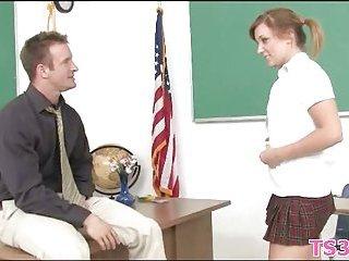 Dirty act with schoolgirl scene 2