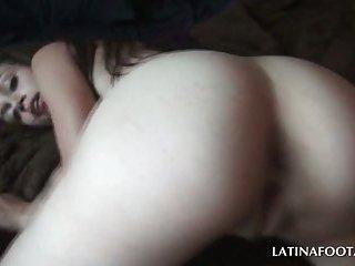 Sexy latina riding pecker in POV