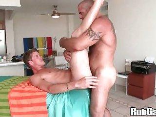 Rubgay Hunk Ass Massaged Hard