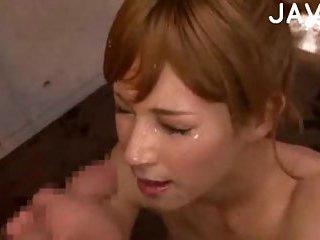 Yummy jap face cummed | Big Boobs Update