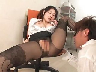 Kinky girl fucked in the office