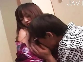 Asian Girl Gets Boobs Touched
